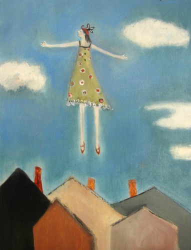 Lift-off, by Jeanie Tomanek