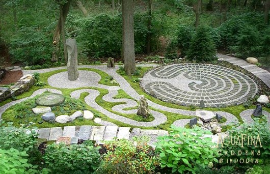 ... Whimsical Garden Dreams Bliss Habits On Labyrinth Garden Designs ...
