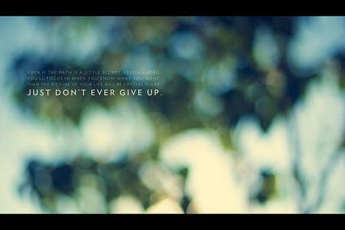 #60 - Don't Give Up by John Nolan