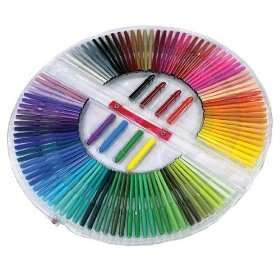 100 markers in every color of the rainbow!