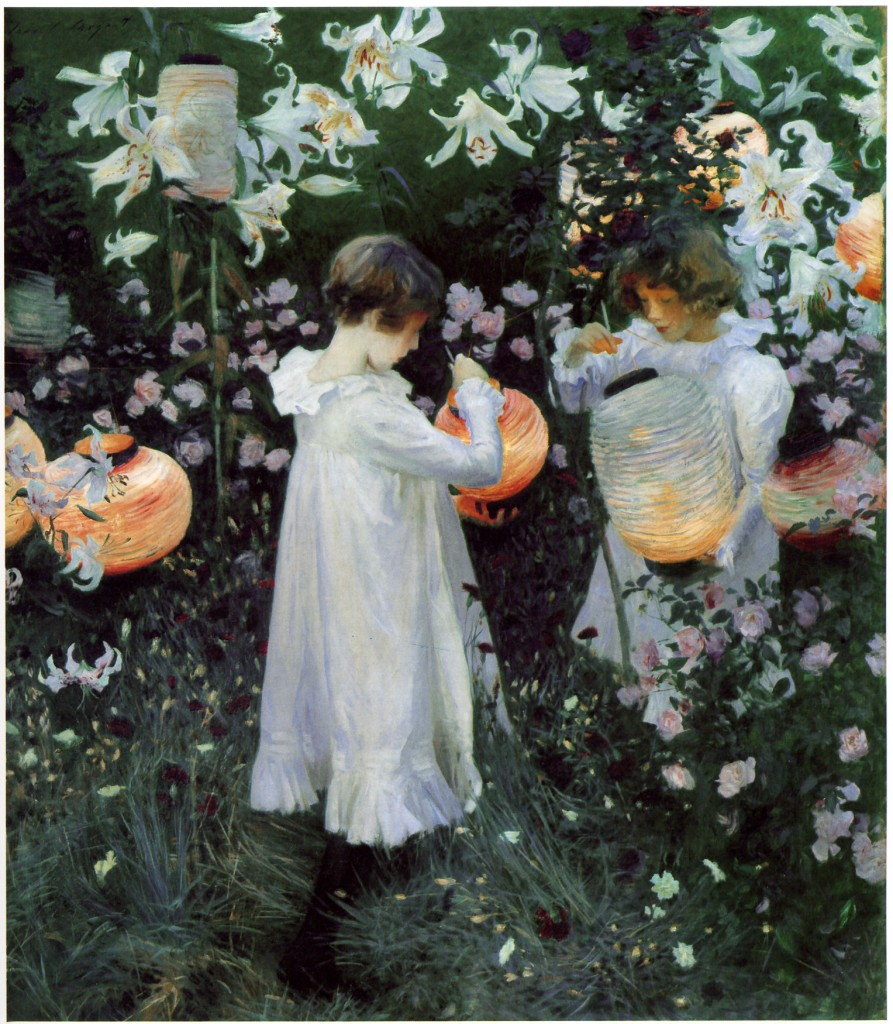 """Carnation Lily Lily Rose"" by John Singer Sargent"