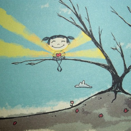 happy little tree girl by agorables