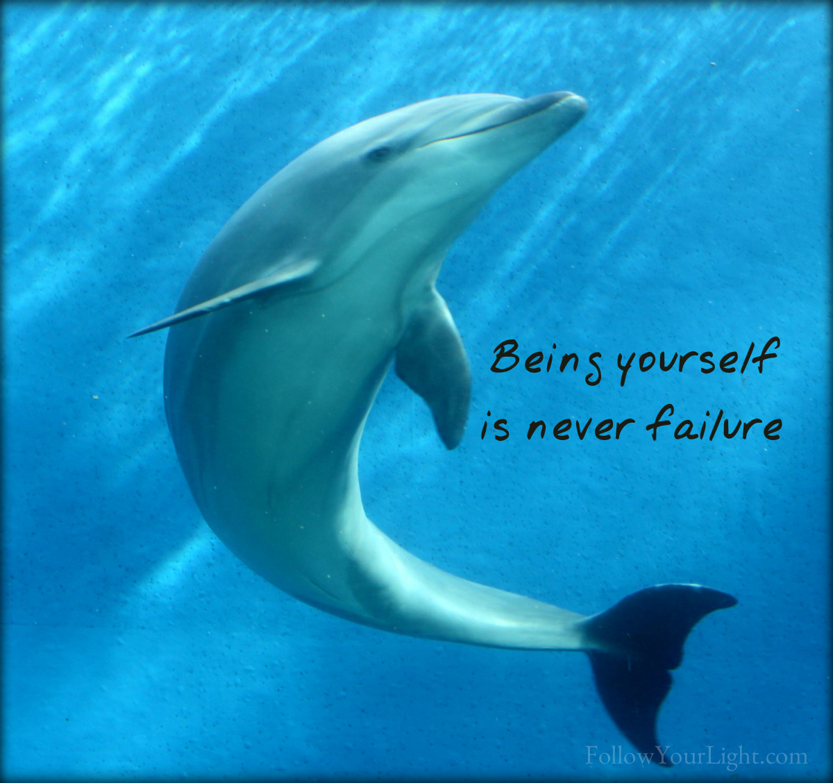 Begin With Being Yourself
